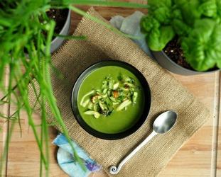 Πράσινη σούπα χειμερινή και αποτοξινωτική