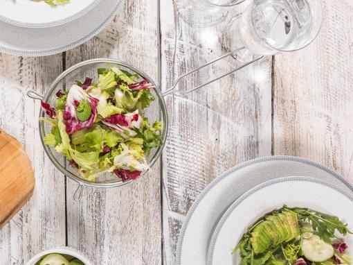 Σαλάτα φασολάκι – αυγουλάκι