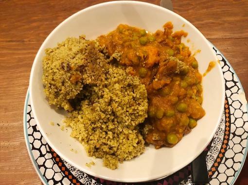Εορταστικό μαροκινό πιάτο με βοδινό ή χωρίς